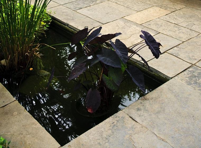 Der formale Gartenteich: Moderner Teichbau