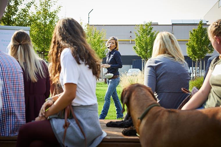 Schnüffelworkshop mit Kristina Ziemer-Falke