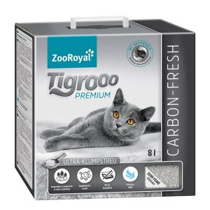 ZooRoyal Tigrooo Katzenstreu Carbon fresh