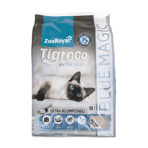 ZooRoyal Tigrooo High-Premium-Katzenstreu Blue Magic
