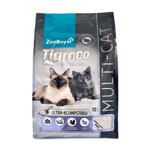 ZooRoyal Tigrooo High-Premium-Katzenstreu Multi-Cat