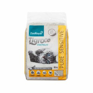 ZooRoyal Tigrooo Katzenstreu Pure Sensitive