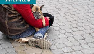 Obdachlose Corona
