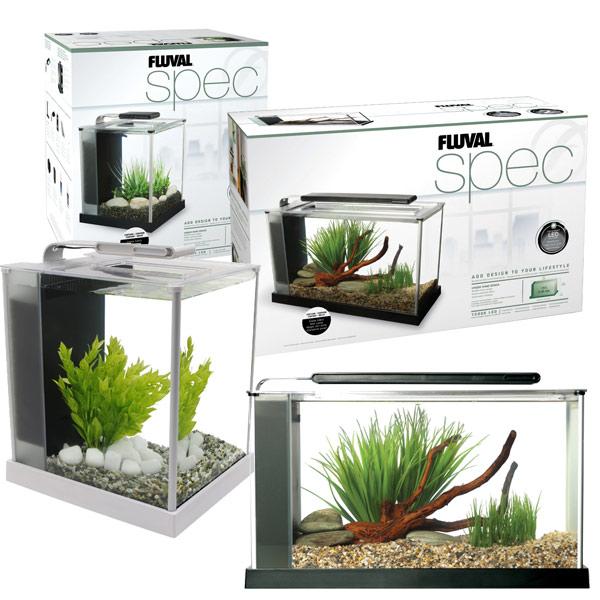 fluval spec nano aquarium inkl beleuchtung und filter starter kit ebay. Black Bedroom Furniture Sets. Home Design Ideas