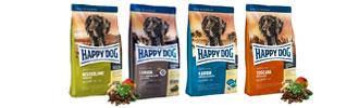 happy dog hundefutter trocken nass bei zooroyal. Black Bedroom Furniture Sets. Home Design Ideas