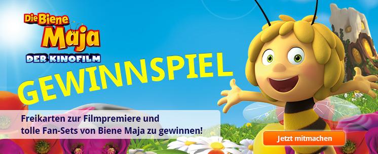 Biene Maja - Gewinnspiel zum Kinofilm