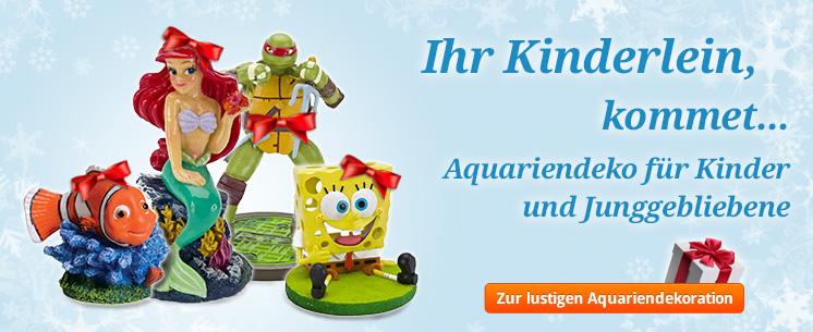 Ihr Kinderlein, kommet... Aquariendeko für Kinder und Junggebliebene! Jetzt ansehen.