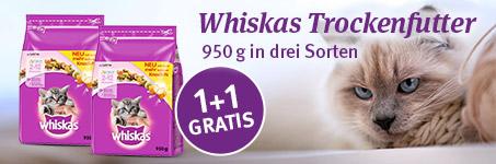 Whiskas Futter Gratis