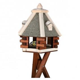 Trixie Natura Futterhaus mit Ständer 1,46m