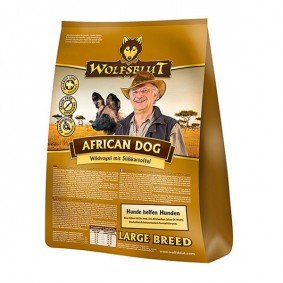 Wolfsblut Hundefutter African Dog Large Breed Wildvogel+Süßkartoffel