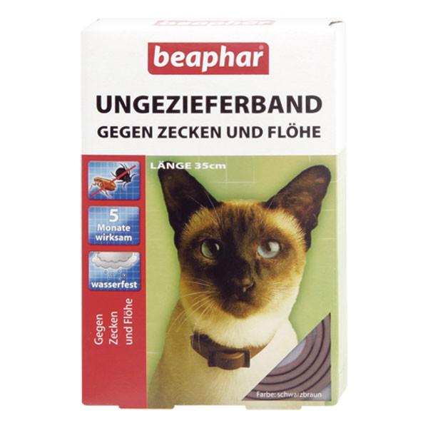 beaphar ungeziefer halsband gegen fl he und zecken 35cm. Black Bedroom Furniture Sets. Home Design Ideas