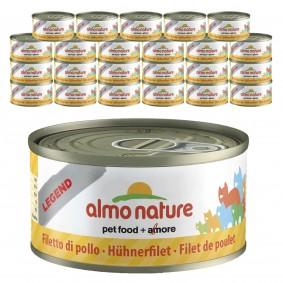 Almo Nature Legend Katzenfutter 24x70gHühnerfilet