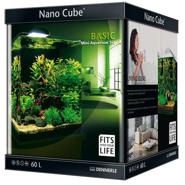 dennerle nanocube basic 60 liter. Black Bedroom Furniture Sets. Home Design Ideas