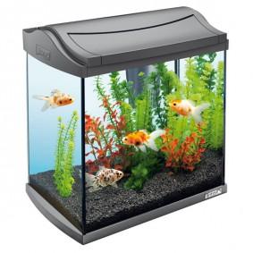 Tetra Aquarium, AquaArt Aquarium Komplett Set 30 l anthrazit