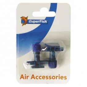 Superfish Absperrhahn für Luftschlauch 2 Stk
