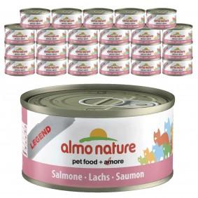 Almo Nature Legend Katzenfutter 24x70gLachs