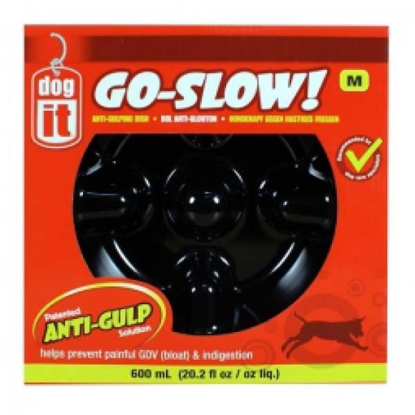 DogIt Go-Slow - Anti Schling Napf 600ml